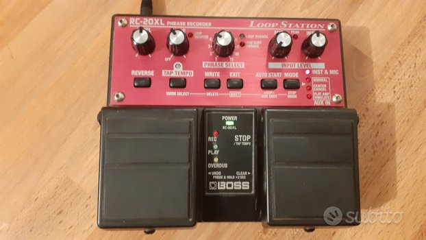 Boss RC-20 XL LOOP STATION LOOPER