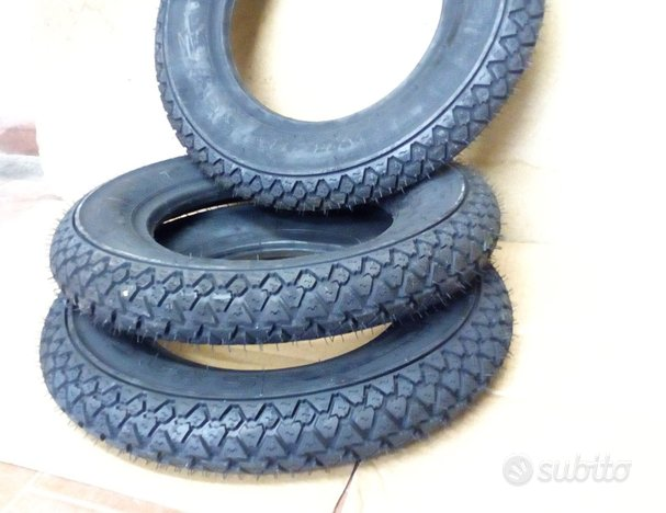 3 Gomme Michelin S83 2.75-9 3.50/8 3.00/10 3.50/10