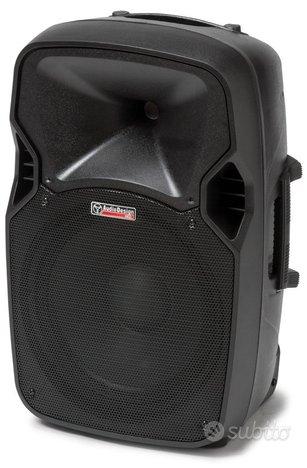 Cassa attiva audio design m.12 usb bluetooh