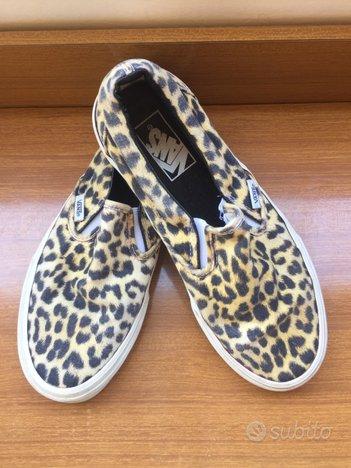 Vans slip-on leopardate - taglia 39