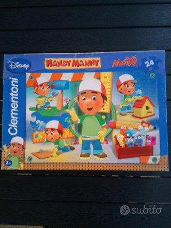 Puzzles handy manny clementoni