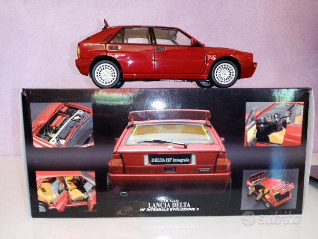 Lancia Delta Kyosho Red Mica