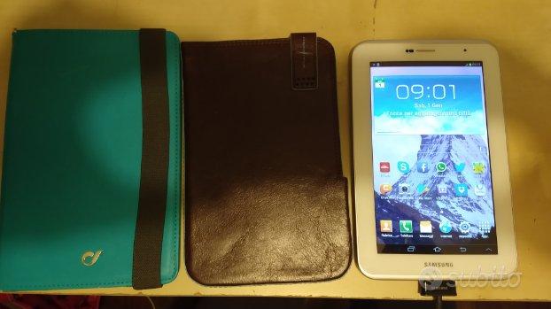 Tablet Samsung 2 7 pollici wifi gt-3100 +custodia