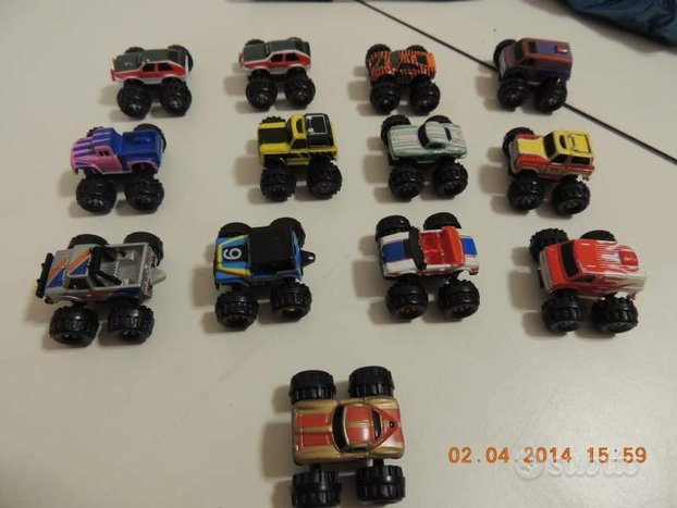 13 monster truck Micromachines big foot