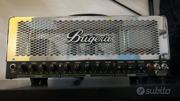 Testata amplificatore valvolare Bugera T50 nuova