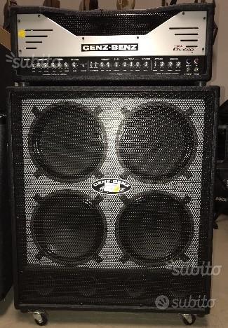 Amplificatore Valvolare Genz Benz El Diablo 100