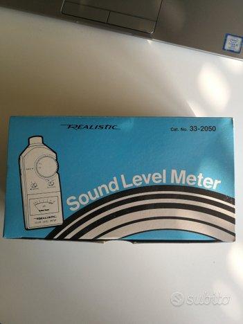 Sound level meter NUOVO - fenometro