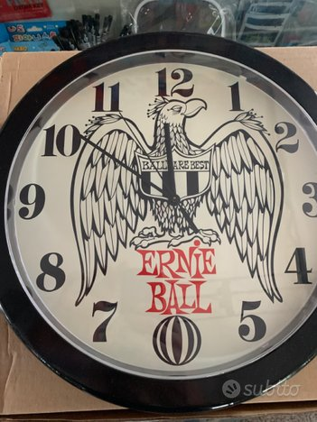 Orologio da Muro Ernie Ball( Nuovo )