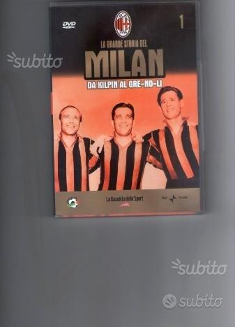 La grande storia del Milan, DVD n.1