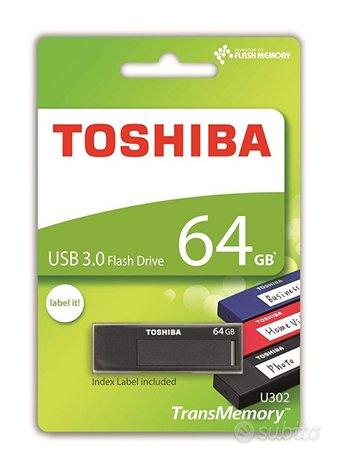 PEN DRIVE, (CHIAVETTA USB) Toshiba TransMemory U3