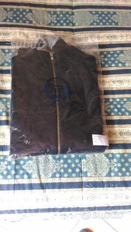 Maglione tacchini blue con zip