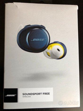 Auricolari bose soundsport free