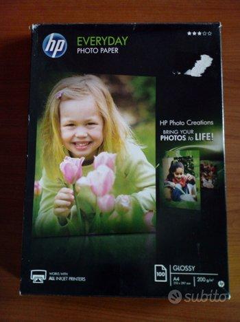 Confezione carta fotografica lucida