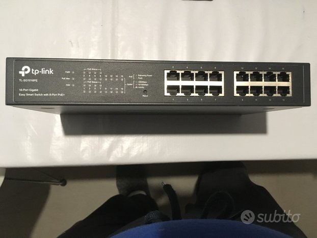Switch Tp-Link 16 porte PoE Easy Smart