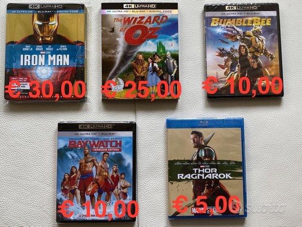 Bluray 4k Marvel Film