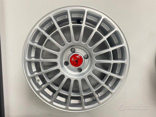 Cerchi in lega Fiat 500/595 da 17 Silver