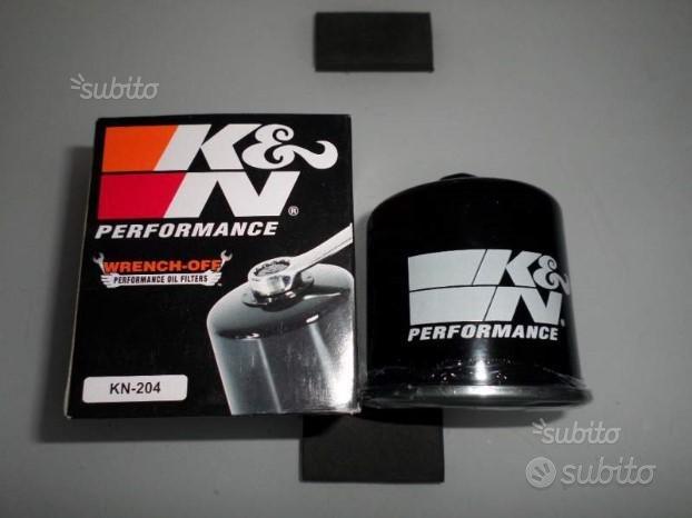 Filtro olio wrench off K&N per moto honda triumph