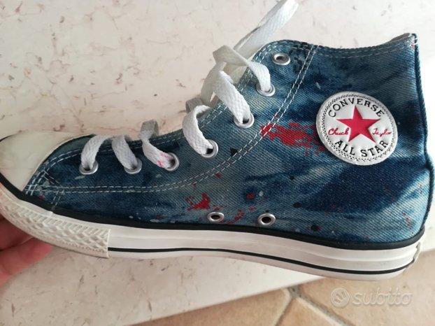 scarpe bimbo 28 converse