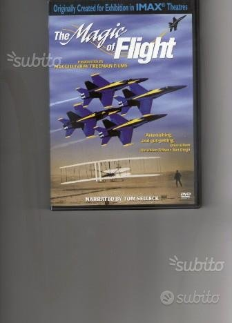 The magic of flight, cofanetto 2 dvd originali