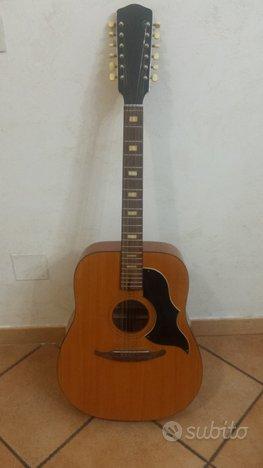 Chitarra acustica Crucianelli 12 corde