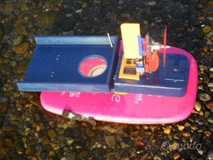 Barchino da pesca radiocomandato Dolly