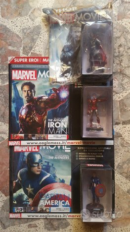 MARVEL MOVIE COLLECTION C. America Iron Man Thor