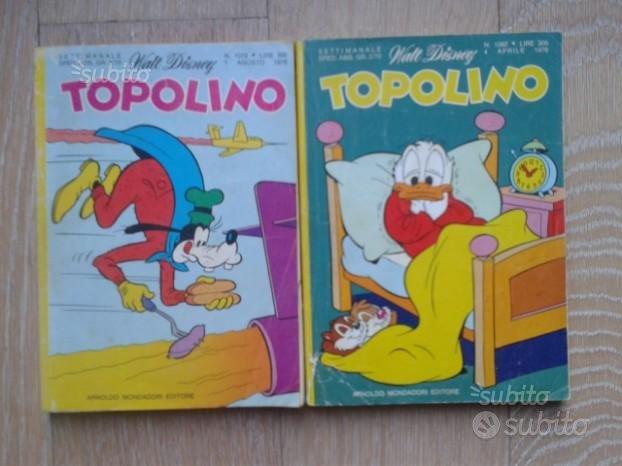 Topolino nr 1062 e nr 1079 del 1976