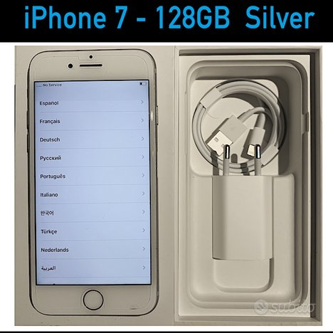IPhone 7 128 GB Silver - Apple