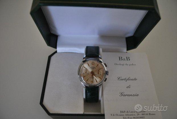Chronographe Suisse, cronografo svizzero meccanico