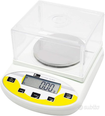 CGOLDENWAL Bilancia Digitale Laboratorio 2kg,0.01g