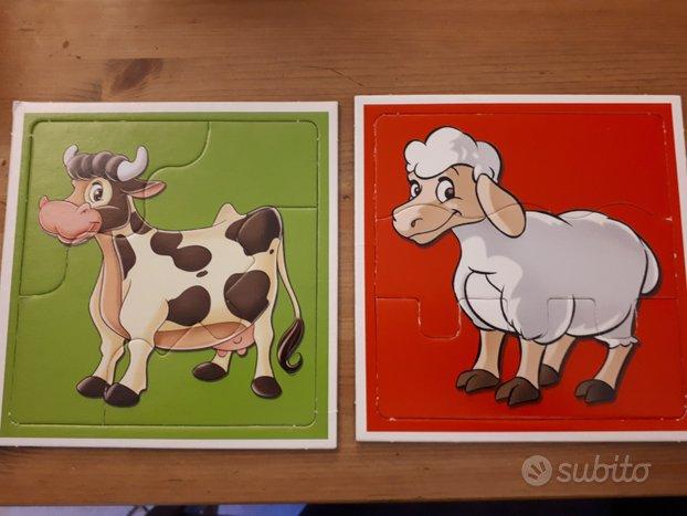 Semplici Puzzle animali 1-4 anni