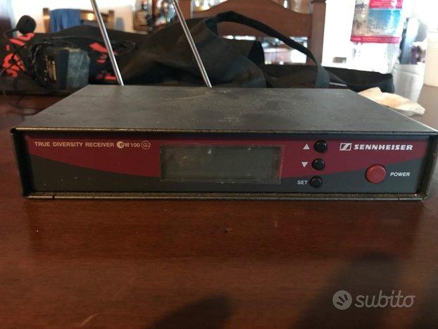 Radio microfono Sennheiser True Diversity EW100 G2