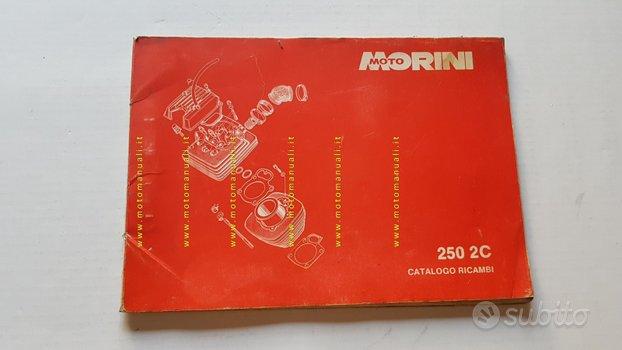 Moto Morini 250 2C catalogo ricambi originale