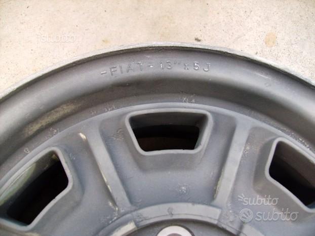 Cerchi lega cromodora FIAT 8 fori