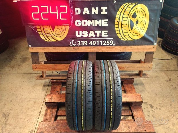 2 Gomme 205 55 16 CONTINENTAL 80% SPED.GRATIS