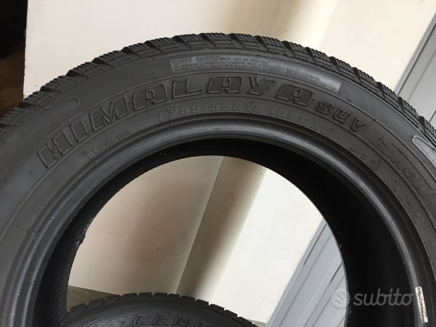 Gomme P255/55/R18-109T XL