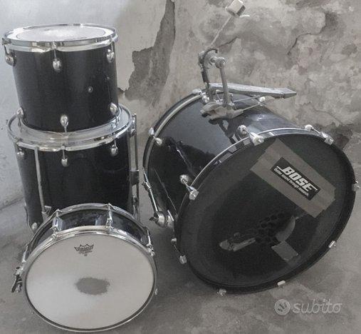 Batteria acustica drum set economica per iniziare