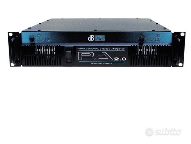 Amplificatore 2000 watt