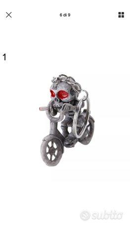 Portachiavi scheletor dado bici