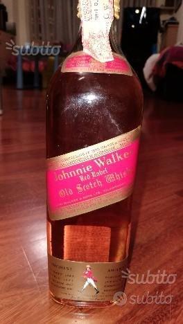 Whisky Johnny Walker bottiglia Vintage