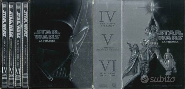 Cofanetto 4DVD Star Wars - Film + Extra