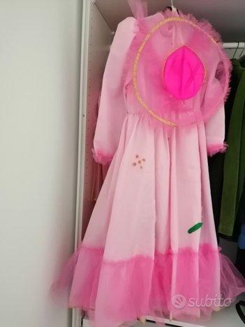 Costume principessa 5 - 6 anni