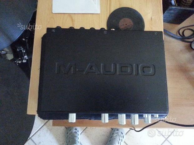Scheda audio esterna M-AUDIO Profire 610 + regalo