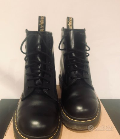 Dr Martens nere Donna EU 41 - 1460 smooth black