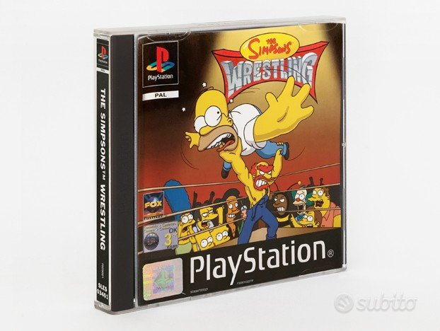 The Simpsons Wrestling Sony Playstation 1 PS1