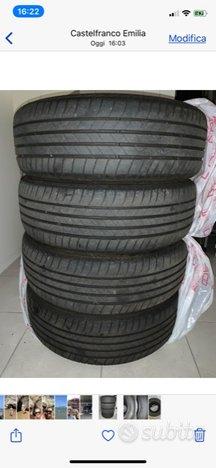 4 Bridgestone Turanza T005 215/60/17 96H DOT 0520