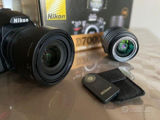 Nikon D7000 - Obiettivi 18-105, 18-55 + Telecomand