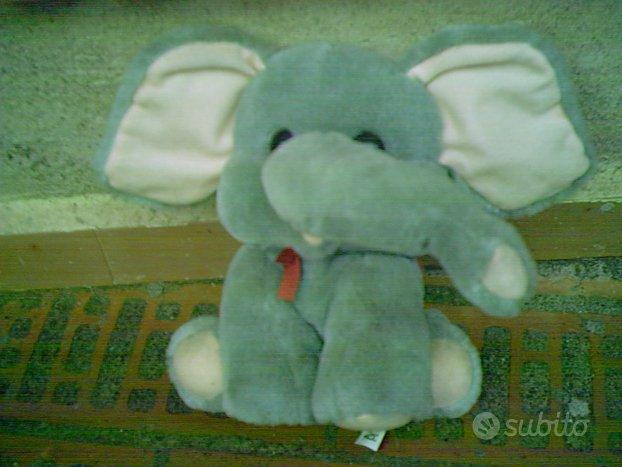 Peluche Elefante vintage anni 80