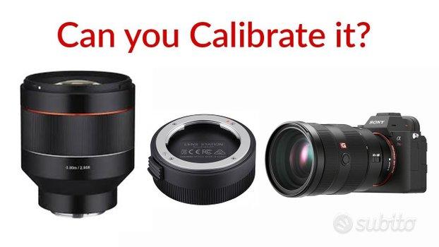 Aggiornamento Firmware Samyang per lenti Sony-E FE