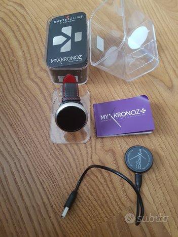 MyKronoz ZeRound 2 HR Premium Smartwatch cardio